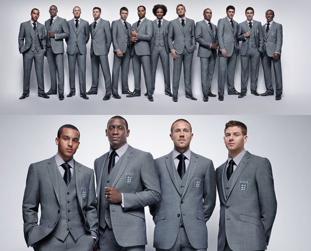 Marks & Spencer Launches Official England Football Team Suit