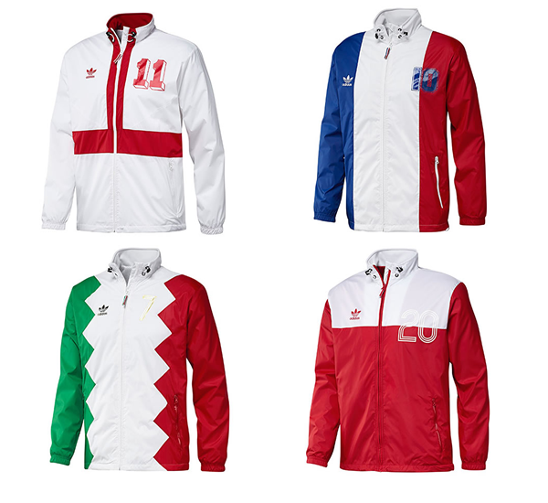 Adidas E12 Colorado Jacket - England/France/Poland/Italy