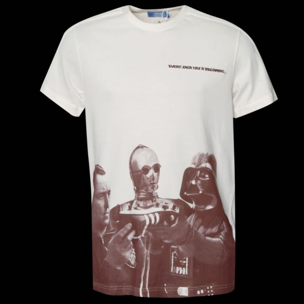 "adidas Originals x Star Wars x Adi Dassler ""Every Saga Has A Beginning"" T-Shirt"
