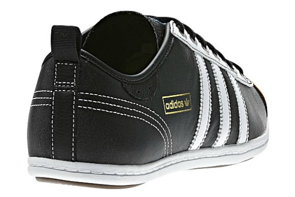 Adidas Plimsalao - Black / Leather / White