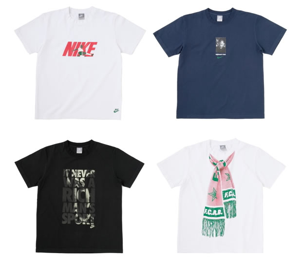 F.C.R.B. x Nike Sportswear – Write the Future T-Shirt Collection
