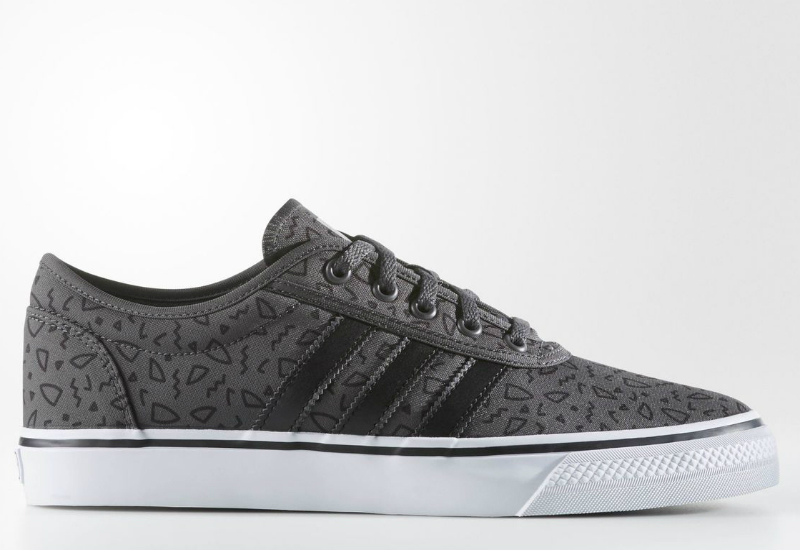 adidas adiease shoes solid grey black running