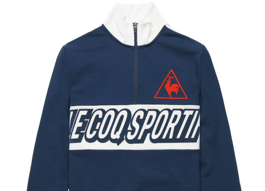 Le Coq Sportif Tricolore Football Sweat - Dress Blues