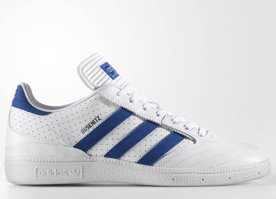 Adidas Busenitz Pro Shoes - Footwear White / Collegiate Royal / Footwear White