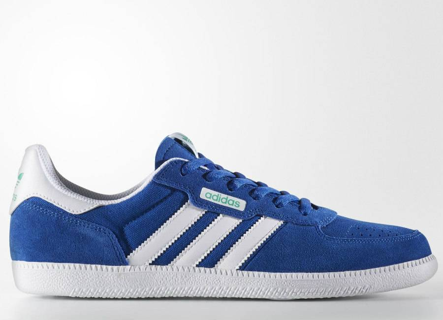 Adidas Leonero Shoes - Collegiate Royal / Footwear White / Core Green