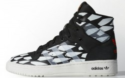 Adidas Rivalry Hi - Battle Pack - Core Black / White Vapour / White