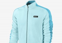 Nike F.C. Poly N98 Track Jacket - Bleached Turquoise / Dusty Cactus / Black