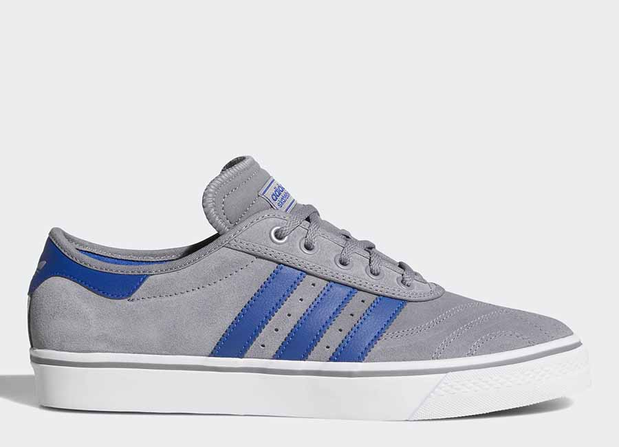 Adidas Adiease Premiere Shoes - Grey Three / Collegiate Royal / Ftwr White