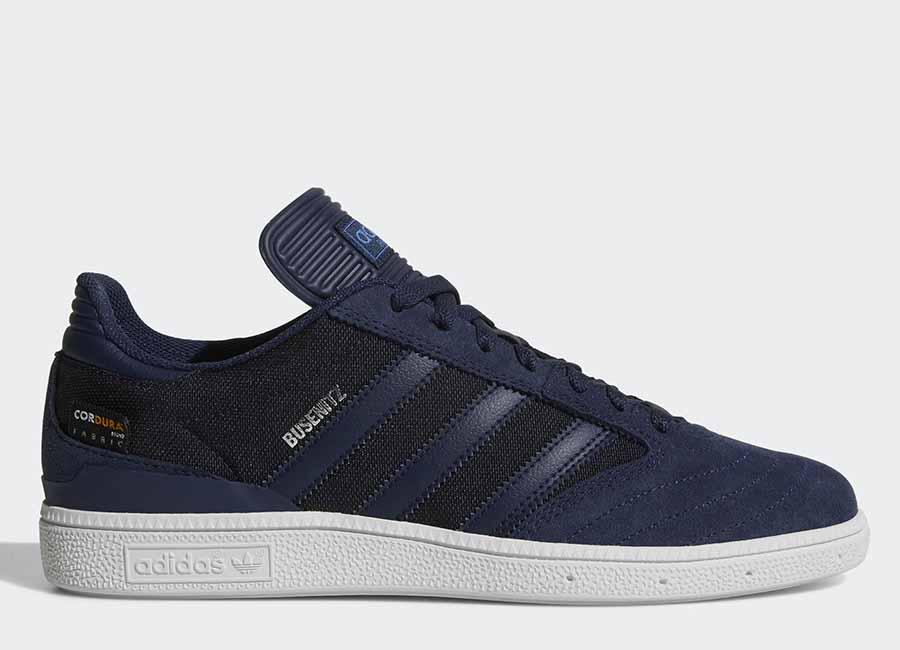 Adidas Busenitz Pro Shoes - Collegiate Navy / Collegiate Navy / Ftwr White