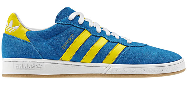 Adidas Etrusco - Bluebird / Running White / Vivid Yellow