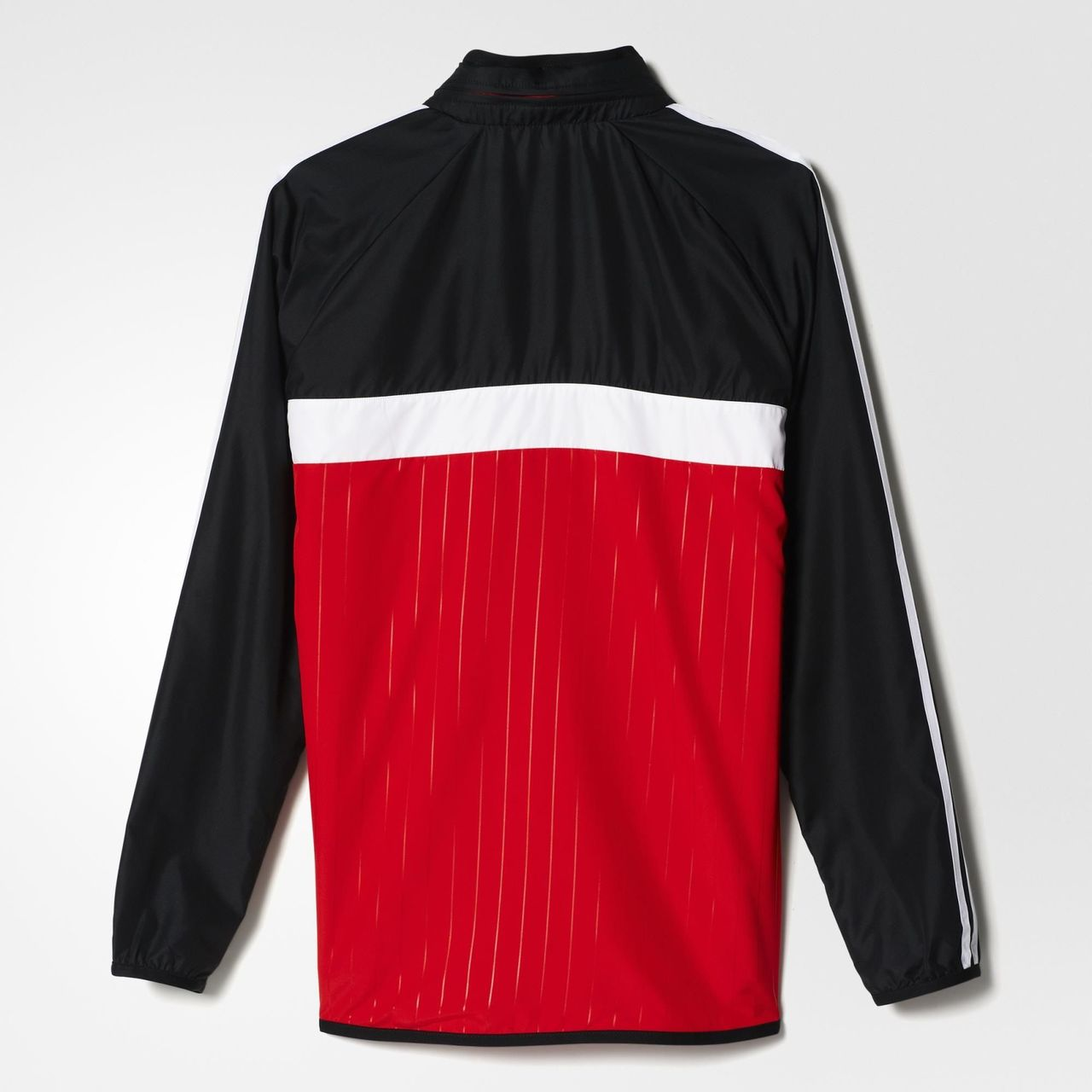 adidas fc bayern m nchen windbreaker scarlet black. Black Bedroom Furniture Sets. Home Design Ideas