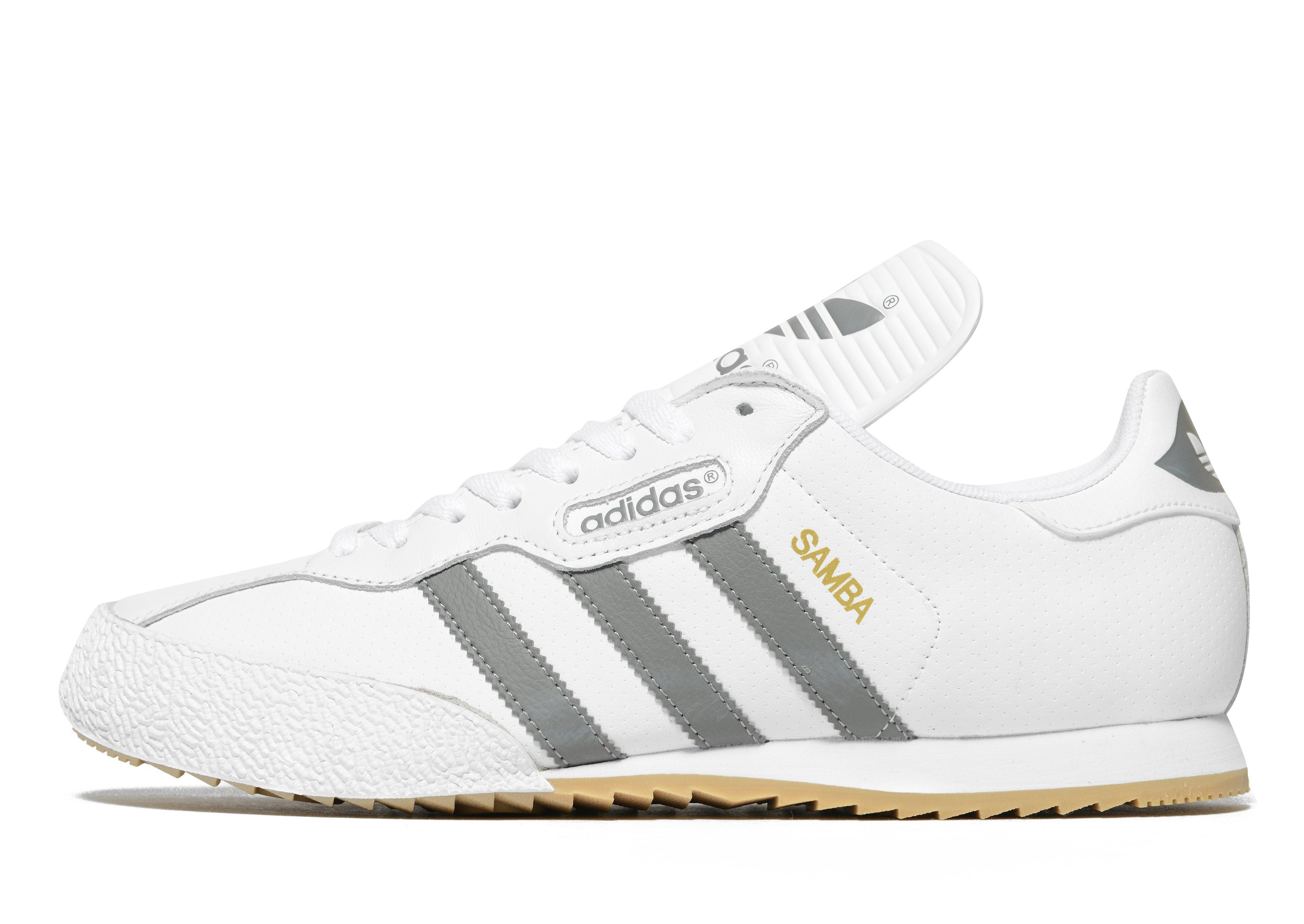 White Leather Polo Shoes