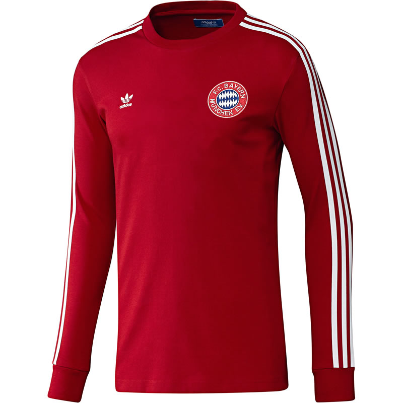 adidas retro bayern munchen tee. Black Bedroom Furniture Sets. Home Design Ideas