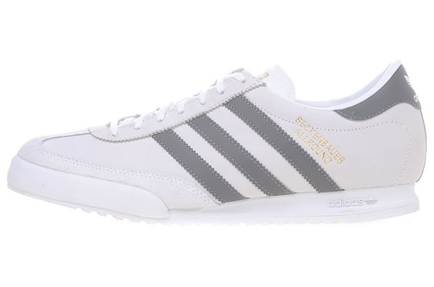 You are browsing images from the article: Adidas Beckenbauer Allround - White/Shade/Grey/Gold