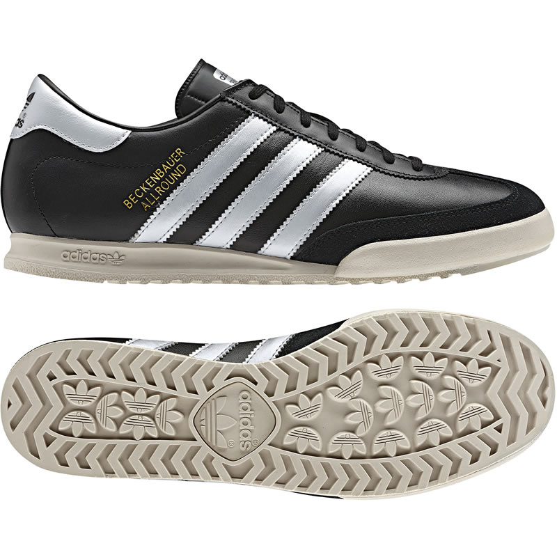 You are browsing images from the article: Adidas Beckenbauer Allround - Black / Metallic Gold / Metallic Silver