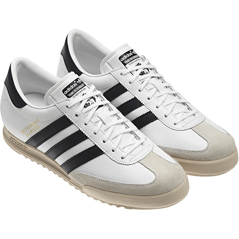 You are browsing images from the article: Adidas Beckenbauer Allround - Running White / Metallic Gold / Legend Ink