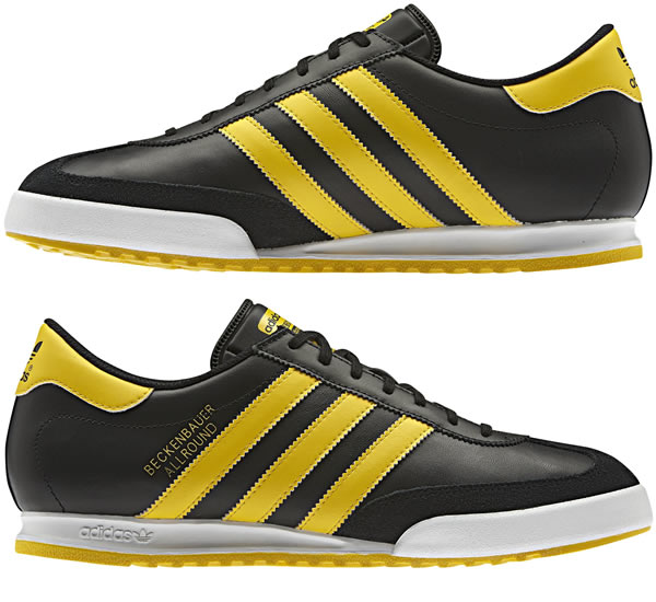 You are browsing images from the article: Adidas Beckenbauer - Black / Running White / Sunshine