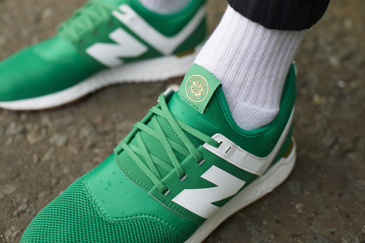 new balance teal 247 trainers