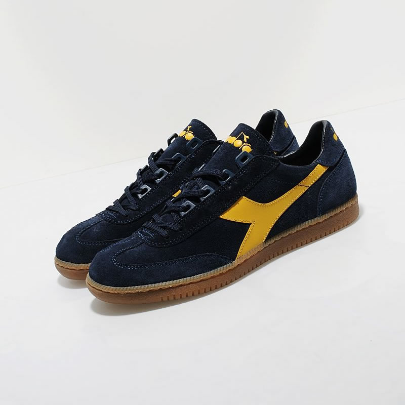 You are browsing images from the article: Diadora Equipe - Navy/Yellow/Gum