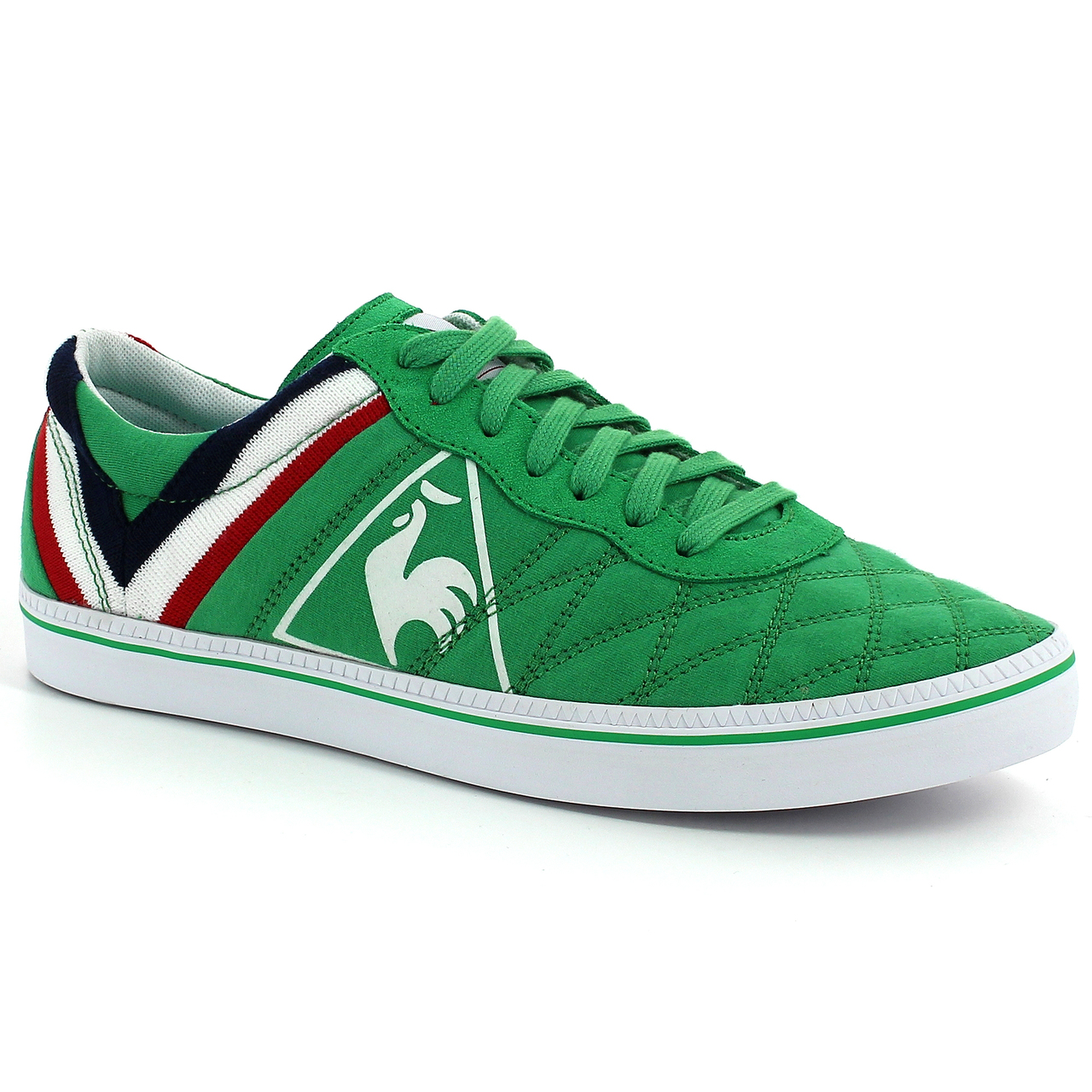 le coq sportif asse troca green jersey green shoes football fashion blog. Black Bedroom Furniture Sets. Home Design Ideas