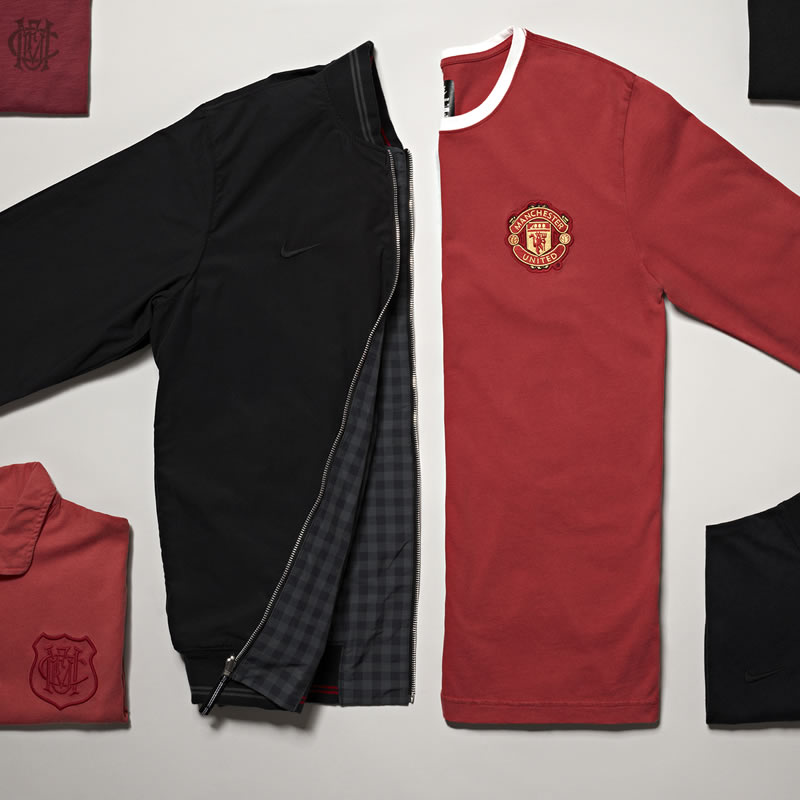 You are browsing images from the article: Nike Sportswear Manchester United Collection
