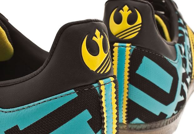 You are browsing images from the article: Adidas Star Wars Samba – Bobsleigh