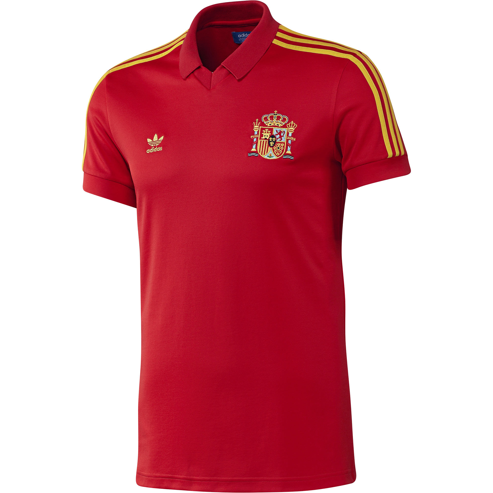 Adidas spain retro jersey for Spain t shirt football