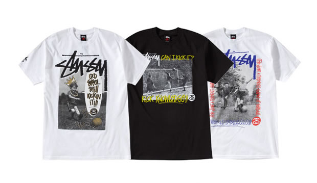 stussy world cup 2010 t-shirts