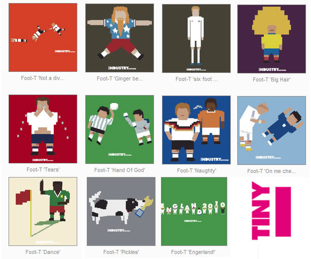 tiny industry world cup moments t-shirts