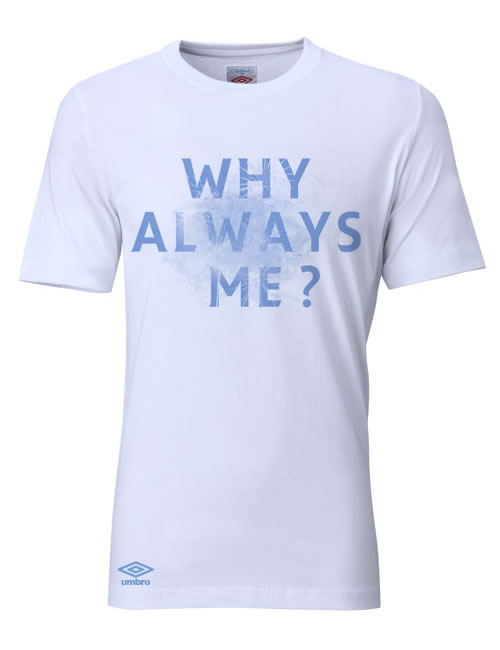 Umbro 'Why Always Me? 'T-Shirt