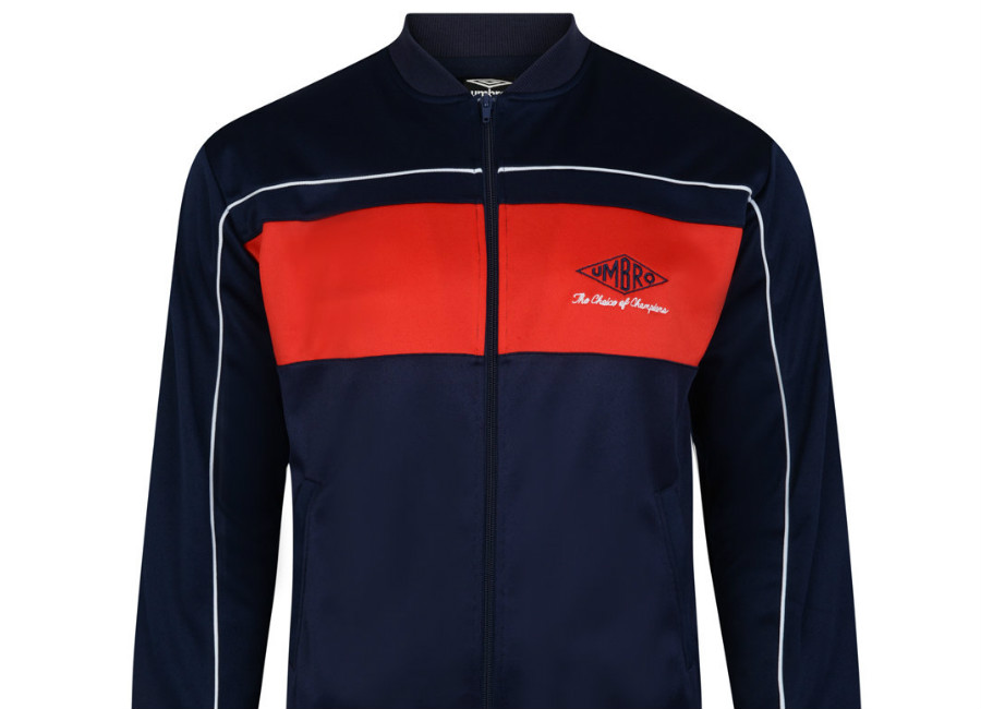 Umbro Choice Of Champions Track Jacket - Navy / Red