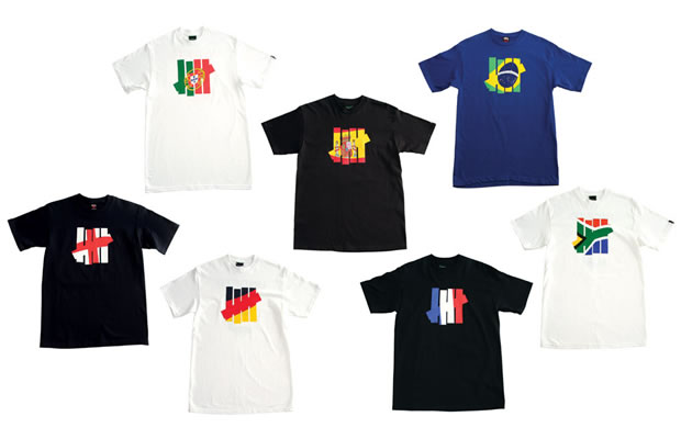 undefeated strike flag world cup t-shirts